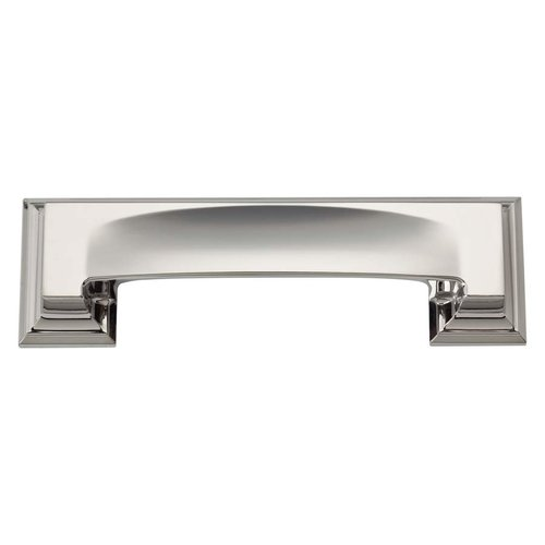Atlas Homewares Sutton Place 3 Inch Center to Center Polished Nickel Cabinet Cup Pull 339-PN