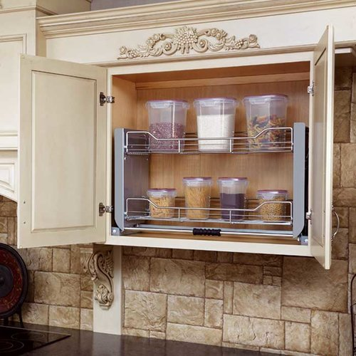 Rev A Shelf 36 Inch Pull Down Shelf System 5pd 36cr Cabinetparts Com