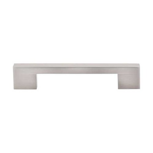 Top Knobs Sanctuary 5 Inch Center to Center Brushed Satin Nickel Cabinet Pull TK23BSN
