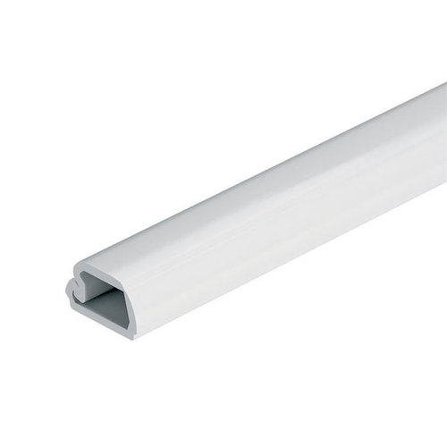 "Hafele Cable Concealing Channel 98-3/8"" Long - White 833.89.013"