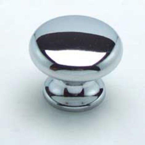 Berenson Euro Retro 1-3/16 Inch Diameter Chrome Cabinet Knob 7012-126-C