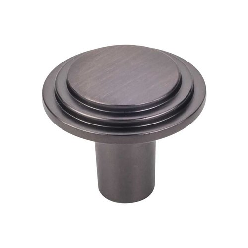 Elements by Hardware Resources Calloway 1-1/4 Inch Diameter Brushed Oil Rubbed Bronze Cabinet Knob 331L-DBAC