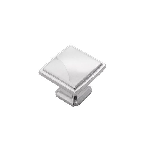 "Hickory Hardware Bridges Knob 1-1/4"" Dia Chrome Finish P3240-CH"