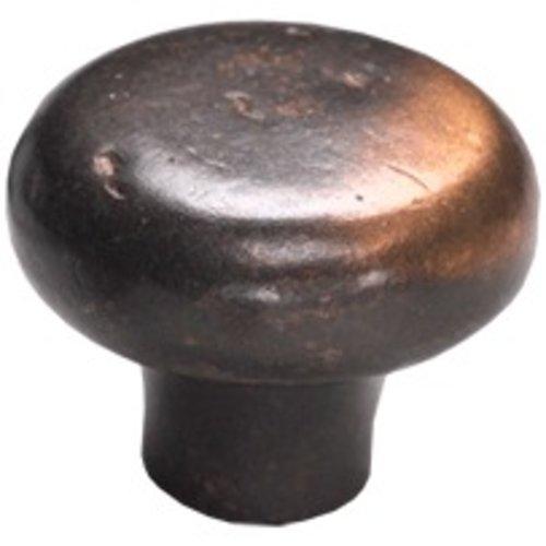 Schaub and Company Mountain 1-5/8 Inch Diameter Antique Bronze Cabinet Knob 773-AZ