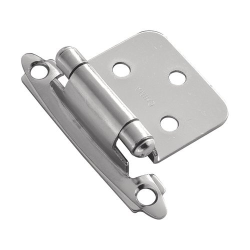 Hickory Hardware Variable Overlay Hinge Pair Chrome Self Close P144-26