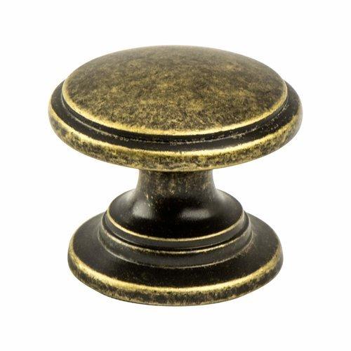 Berenson Andante 1-3/16 Inch Diameter Dull Bronze Cabinet Knob 7894-1DBZ-P