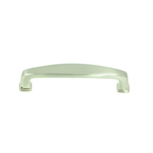 Stone Mill Hardware Milan 3-3/4 Inch Center to Center Satin Nickel Cabinet Pull CP81092-SN