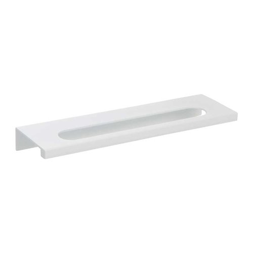 MidCentury 5-1/16 Inch Center to Center White Gloss Cabinet Pull <small>(#365-WG)</small>