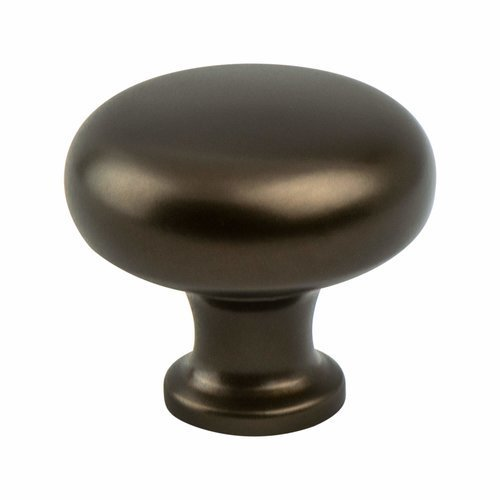 Adagio 5/8 Inch Base Diameter Oil Rubbed Bronze Cabinet Knob <small>(#7908-1ORB-P)</small>