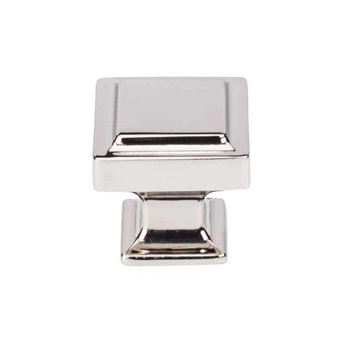 Top Knobs Transcend 1-1/4 Inch Diameter Polished Nickel Cabinet Knob TK702PN