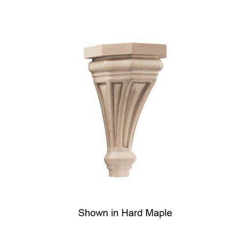 Brown Wood Pinnacle Small Corbel Unfinished Alder 01607116AL1
