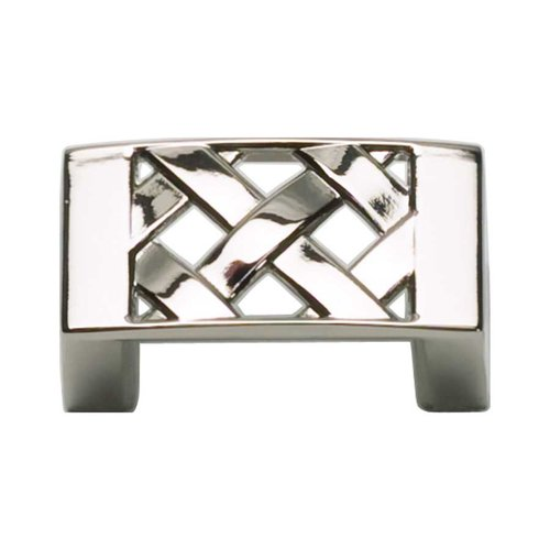 Atlas Homewares Lattice 1-1/4 Inch Center to Center Polished Nickel Cabinet Pull 309-PN
