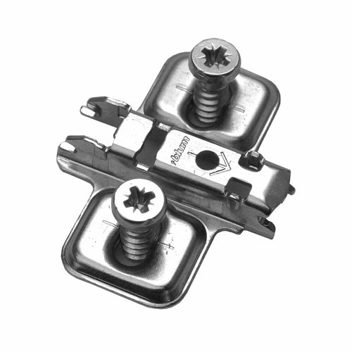 Blum Clip 1 Piece Mounting Plate For Euro-screw 0mm 173L8100