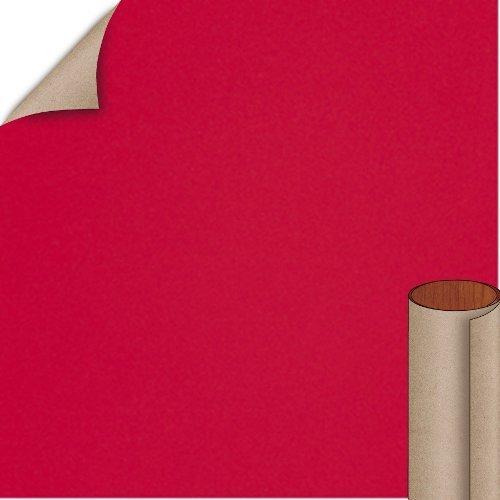 Nevamar Liberty Red Textured Finish 4 ft. x 8 ft. Countertop Grade Laminate Sheet S1027T-T-H5-48X096