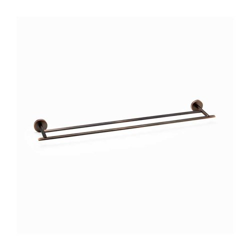 "R. Christensen 24"" Double Towel Bar Verona Bronze 6222-30VB-P"