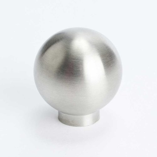 Berenson Stainless Steel 1-3/16 Inch Diameter Stainless Steel Cabinet Knob 7078-9SS-C