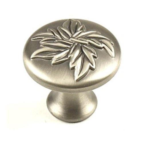 Aspen 1-3/16 Inch Diameter Antique Pewter Cabinet Knob <small>(#23025-APH)</small>