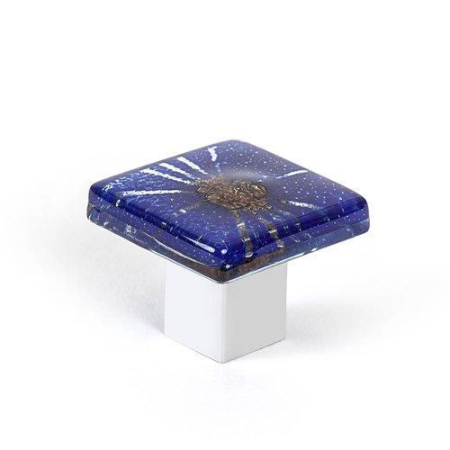 R. Christensen Radiants 1-3/8 Inch Diameter Dark Blue Cabinet Knob 9670-1000-C