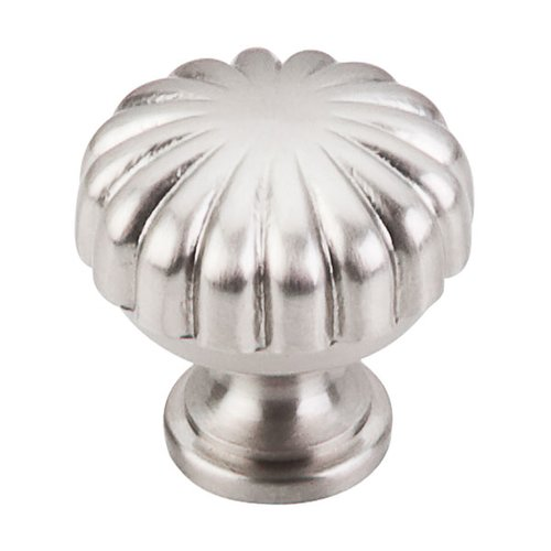Asbury 1-1/4 Inch Diameter Brushed Satin Nickel Cabinet Knob <small>(#M1318)</small>