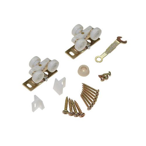 Johnson Hardware 100 Series Pocket Door Hardware Set for 1 Door 10311002