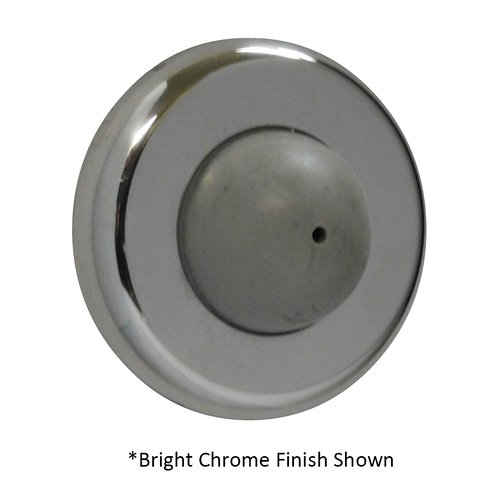 Don-Jo Convex Wrought Wall Bumper Satin Chrome 1406-626