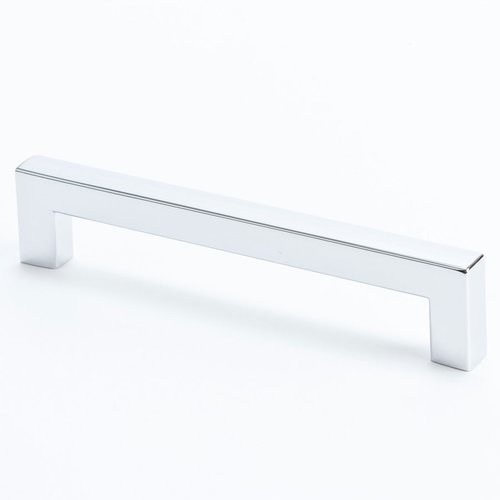 R. Christensen Square 5-1/16 Inch Center to Center Polished Chrome Cabinet Pull 9285-1026-C