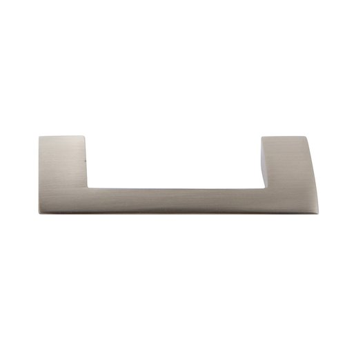 Atlas Homewares Angled Drop Pull 3 inch Center to Center Brushed Nickel A904-BN