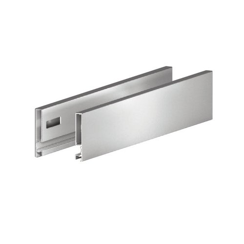 "Vionaro 15"" Metal Drawer Side 7-1/4"" H Silver Grey <small>(#F135121503207)</small>"