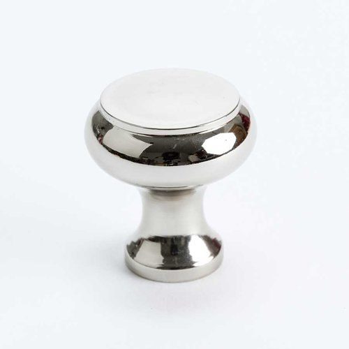 Berenson Designers Group 10 1-1/4 Inch Diameter Polished Nickel Cabinet Knob 4150-1014-P