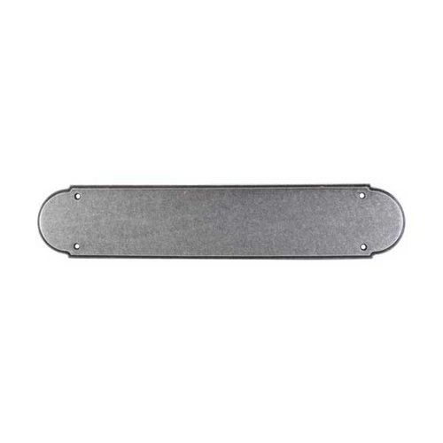 Top Knobs Appliance Pull 15 Inch Length Pewter Back-plate M908