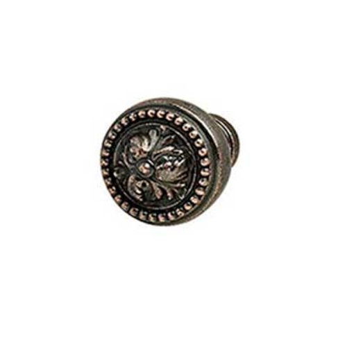 Hafele Artisan 1-1/4 Inch Diameter Florentine Bronze Cabinet Knob 125.86.111