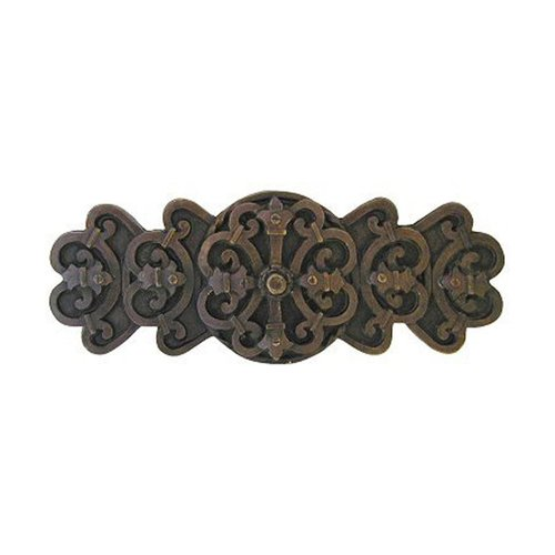 Notting Hill Olde World 3 Inch Center to Center Dark Brass Cabinet Pull NHP-676-DB