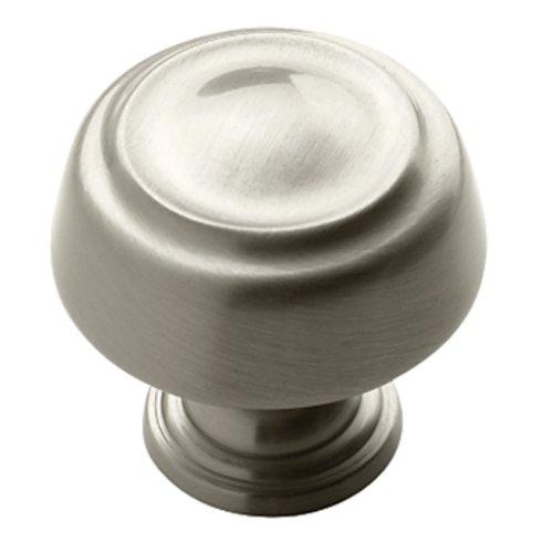 Amerock Kane 1-1/4 Inch Diameter Satin Nickel Cabinet Knob BP53700G10