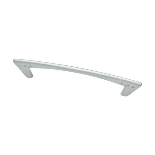 Liberty Hardware Modern 5-1/16 Inch Center to Center Dull Chrome Cabinet Pull 62286DC