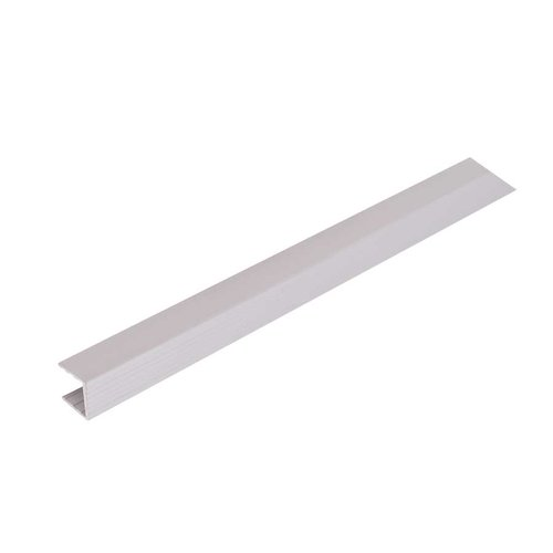 "Hafele Omni Track Shelf Stiffener 96"" Matte Aluminum 792.01.030"