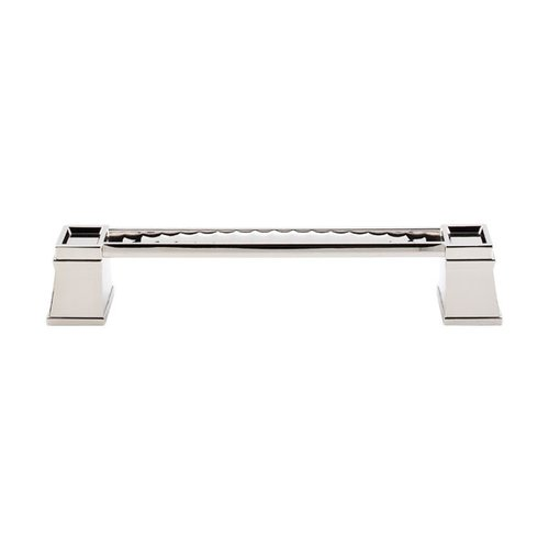 Top Knobs Great Wall 6 Inch Center to Center Polished Nickel Cabinet Pull TK188PN
