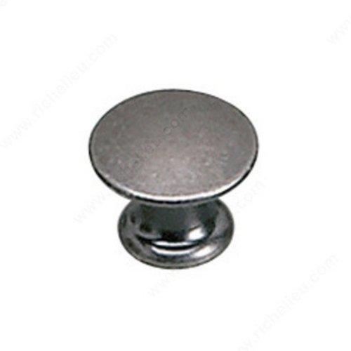 Richelieu Povera 1/2 Inch Diameter Faux Iron Cabinet Knob 2445913904