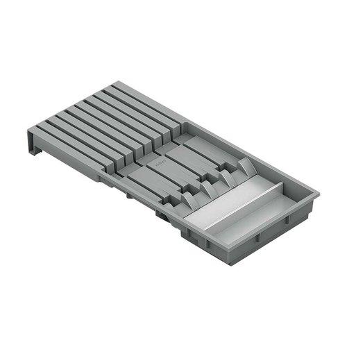 Blum Legrabox Knife Holder Orion Gray and Stainless ZC7M0200