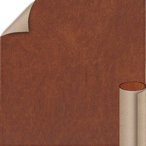 Nevamar Topaz Khayawood Textured Finish 4 ft. x 8 ft. Vertical Grade Laminate Sheet W8369T-T-V3-48X096
