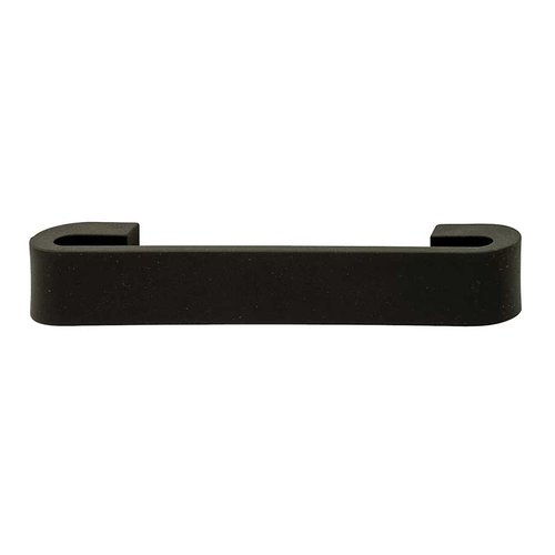 Hafele Bella Italiana 5-1/16 Inch Center to Center Black Cabinet Pull 105.51.332