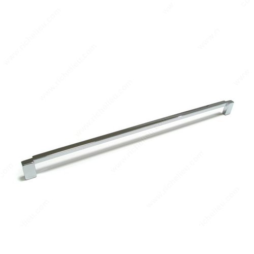 Linea 9 Inch Center to Center Chrome Cabinet Pull <small>(#167288140)</small>
