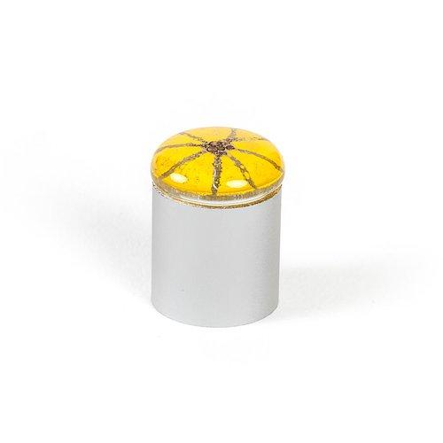 R. Christensen Radiants 3/4 Inch Diameter Yellow Cabinet Knob 9656-1000-C
