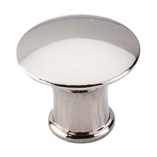 Top Knobs Asbury 1-1/4 Inch Diameter Polished Nickel Cabinet Knob M1307