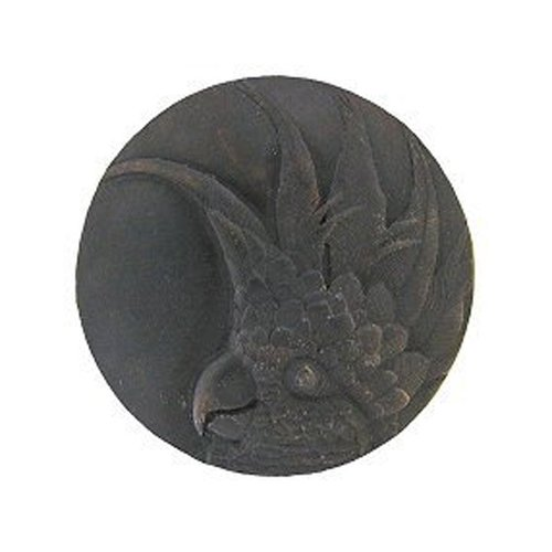 Tropical 1-3/8 Inch Diameter Dark Brass Cabinet Knob <small>(#NHK-324-DB-R)</small>