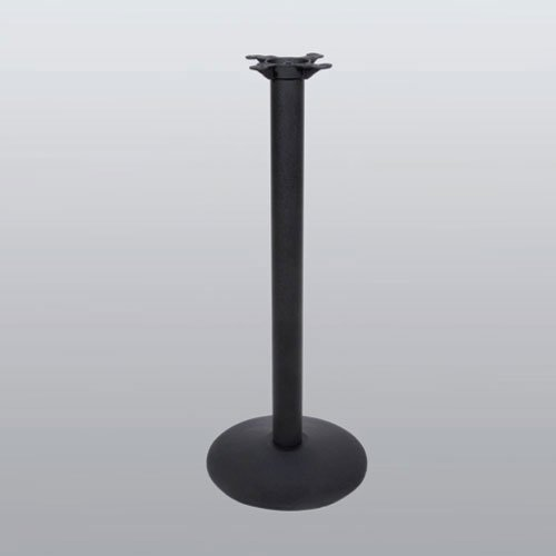 "Table Base 17"" Round x 41"" High-Black Matte Finish <small>(#3017-41-MT)</small>"