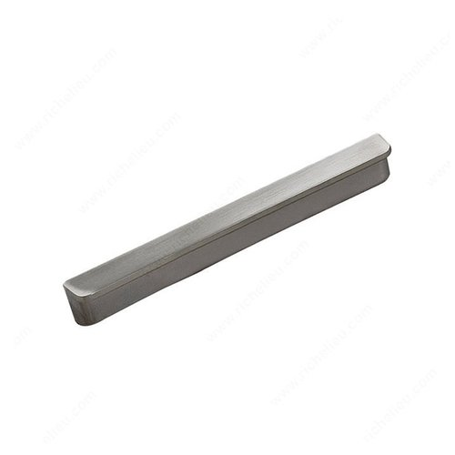 Richelieu Lift 3-3/4 Inch Center to Center Brushed Nickel Cabinet Pull 61688696195
