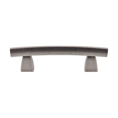 Top Knobs Sanctuary 3 Inch Center to Center Pewter Antique Cabinet Pull TK3PTA