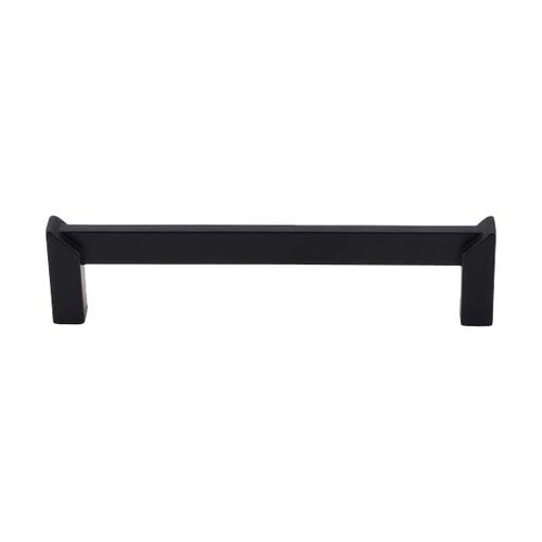 Sanctuary II 5 Inch Center to Center Flat Black Cabinet Pull <small>(#TK236BLK)</small>