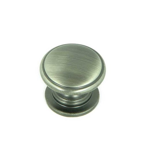Princeton 1-1/4 Inch Diameter Weathered Nickel Cabinet Knob <small>(#CP80980-WEN)</small>