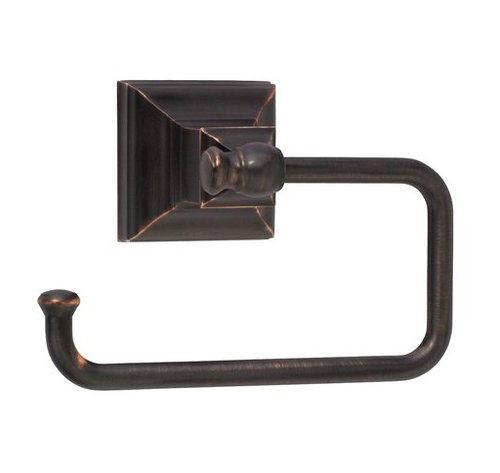 Amerock Markham Tissue Roll Holder Oil Rubbed Bronze BH26510ORB